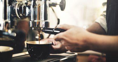 Vending und Kaffee.