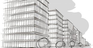 Immobilien, Gebäude und Investitionen.