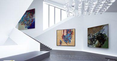 Restauration von Kunst und Gemälden.