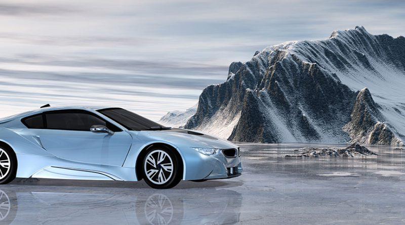 Automobil - Automobilindustrie mit Zukunftstechnologie.