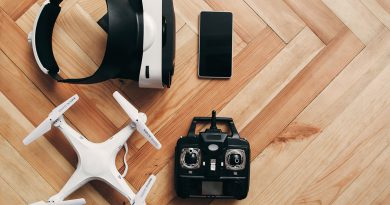 Smartphone, Drohnen und 3-D Simulator. innovative Unterhaltungselektronik.