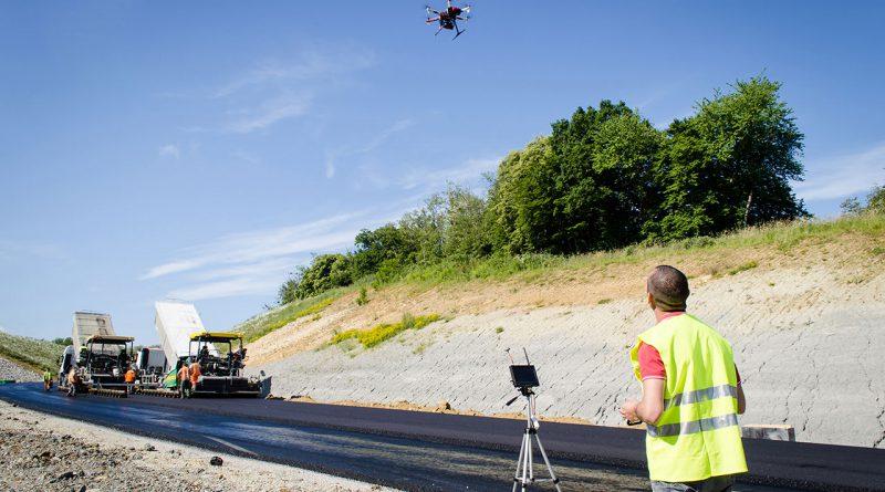 Drohnen für Geodäsie, Geoinformation und Landmanagement.