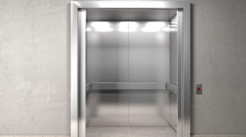 Lift und Aufzugtechnologie.