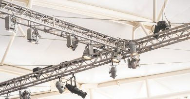 Licht-, Ton- und Bühnentechnik. Systemintegration, Produktion und Broadcast, Eventausstattung.