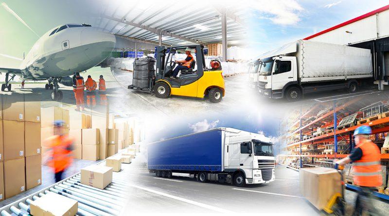 Transport und Intralogistik – dem Waren- und Materialfluss innerhalb eines Betriebsgeländes.