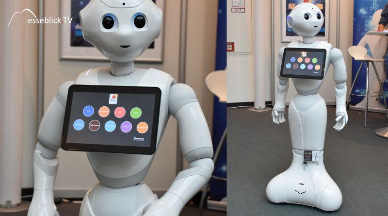 Roboter Pepper vorgestellt von Humanizing Technologies und Duo
