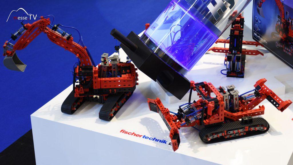 Fischertechnik - Advanved Hydraulic Baumaschinen