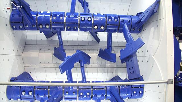 BHS Sonthofen Doppelwellen Chargenmischer DKX Produktion Beton