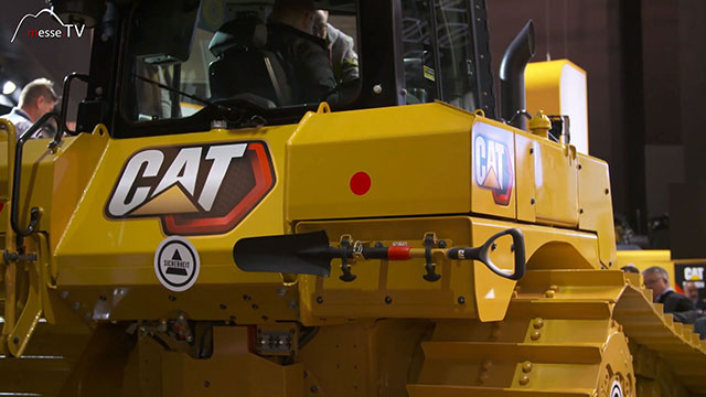 Caterpillar Dieselelektrischer Bulldozer D6XE