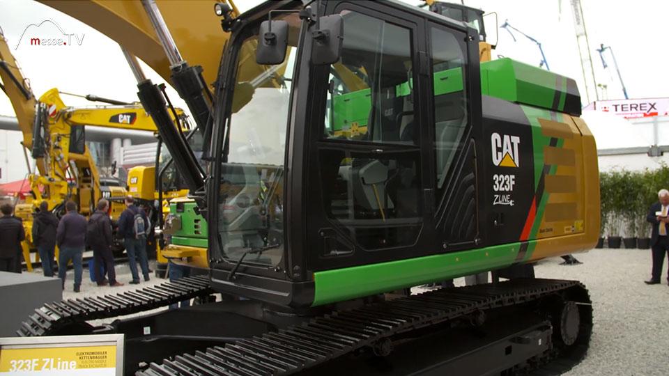 Caterpillar Pon vollelektrischer Bagger 323F Z-Line