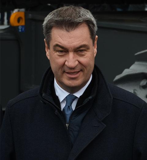 Bayerischer Ministerpräsident Dr. Markus Söder, CSU