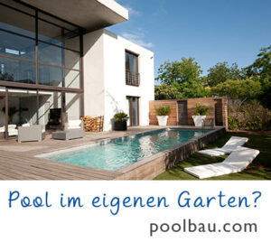 Swimmingpool: Pool bauen